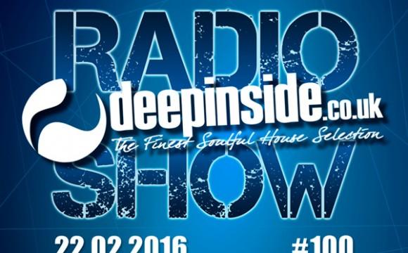 DEEPINSIDE RADIO SHOW 100 (Miss Patty Artist of the week)