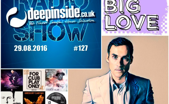 DEEPINSIDE RADIO SHOW 127 (Seamus Haji Artist of the week)