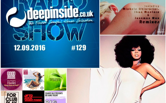 DEEPINSIDE RADIO SHOW 129 (Barbara Tucker Artist of the week)