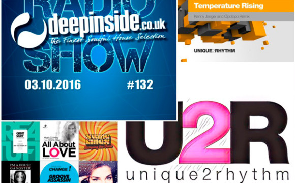 DEEPINSIDE RADIO SHOW 132 (Unique2Rhythm Artist of the week)