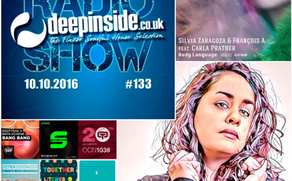 DEEPINSIDE RADIO SHOW 133 (Silvia Zaragoza Artist of the week)