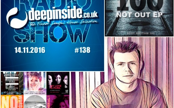 DEEPINSIDE RADIO SHOW 138 (Ross Couch Artist of the week)