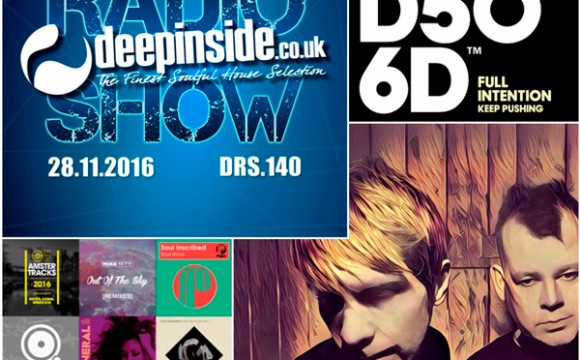 DEEPINSIDE RADIO SHOW 140 (Full Intention Artist of the week)