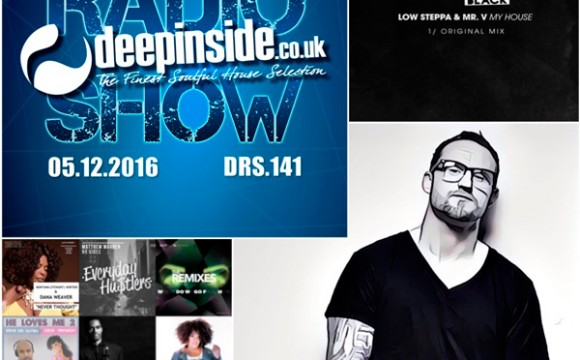 DEEPINSIDE RADIO SHOW 141 (Low Steppa Artist of the week)