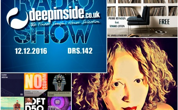 DEEPINSIDE RADIO SHOW 142 (Tommie Cotton Artist of the week)