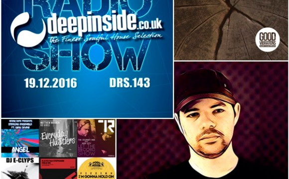DEEPINSIDE RADIO SHOW 143 (Sean McCabe Artist of the week)