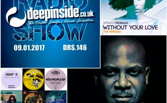 DEEPINSIDE RADIO SHOW 146 (DJ Spen Artist of the week)