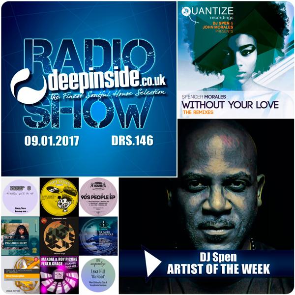 Deepinside Radio Show 146 Cover