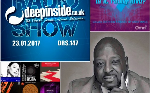 DEEPINSIDE RADIO SHOW 147 (Gershon Jackson Artist of the week)