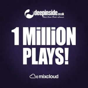 1 million plays on Mixcloud