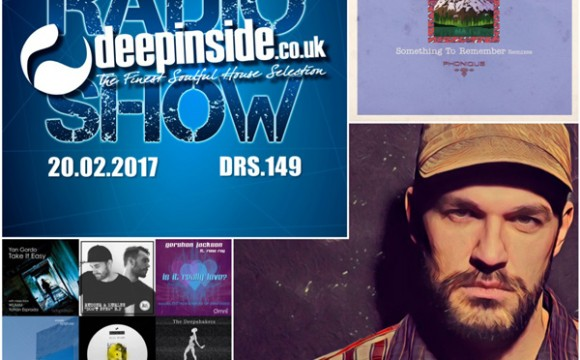 DEEPINSIDE RADIO SHOW 149 (Phonique Artist of the week)