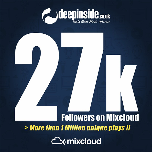 27 000 followers on Mixcloud