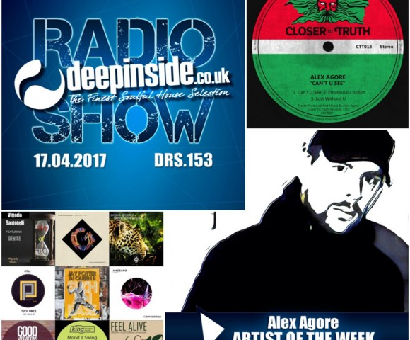 ON AIR^This week, DEEPINSIDE presents DRS 153 !!