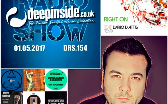 DEEPINSIDE RADIO SHOW 154 (Kiko Navarro Artist of the week)