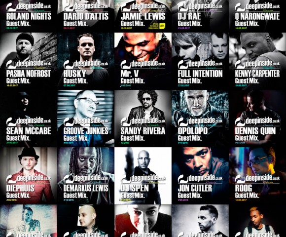 GUESTS^The best House artists are on DEEPINSIDE!!