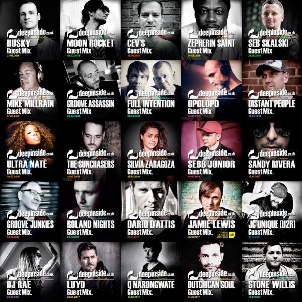 Artists Deepinside 2018