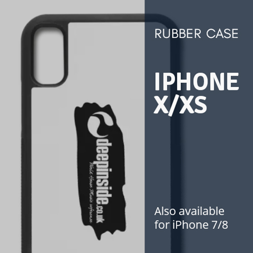 Rubber Case iPhone X/XS