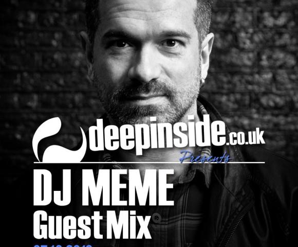 PODCAST^Legendary DJ MEME is on DEEPINSIDE!!