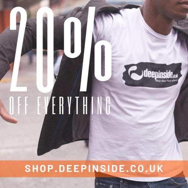 20% Off Everything Logo