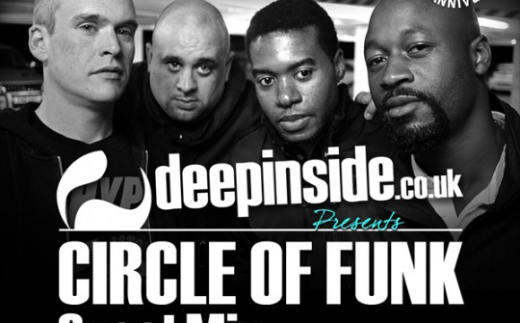 CIRCLE OF FUNK is on DEEPINSIDE