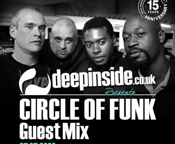 ON AIR^DEEPINSIDE invites CIRCLE OF FUNK!!